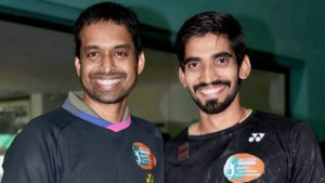 Kidambi Srikanth credits Pullela Gopichand for recent success
